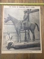 ANNEES 20/30 STATUE AU MARECHAL FOCH A CASSEL SCULPTEUR MALISSART - Collections