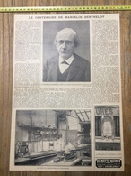 ANNEES 20/30 LE CENTENAIRE DE MARCELIN BERTHELOT LE ROI FOUAD 1ER PREMIER A PARIS - Collections