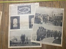 ANNEES 20/30 MONUMENT NEUVE CHAPELLE A LA MEMOIRE DES SOLDATS HINDOUX - Collections