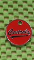 Shopping Carts / Winkelwagentjes / Jeton De Caddie - Centrals Honkball, De Bilt, Utrecht , The Netherlands - Trolley Token/Shopping Trolley Chip
