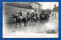 Ribécourt  / Patrouille De Saphis Marocains Traversant Le Village - France