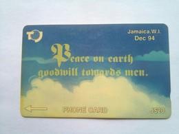 21JAMA Peace On Earth Dec 94 J$20 - Jamaïque