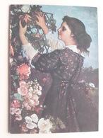 Meilleurs Voeux 1977 De La Part Des Oeuvres Sociales Des P.T.T....Gustave Courbet / Jour D'Emission 9-11-76 ! - France