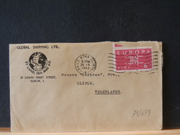 79/659 LETTRE  ISLANDE POUR LA HOLLANDE - Covers & Documents