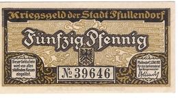 Deutschland Notgeld 50 Pfennig Tieste5600.05.05 PFULLENDORF /84M/ - [11] Local Banknote Issues