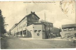 BEAUCOURT.  Une Partie Des Usines Japy Frères Et Cie. - Beaucourt
