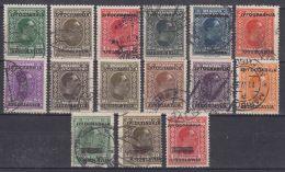 Yugoslavia Kingdom 1933 Mi#257-268 And Mi#269-271 Used - 1931-1941 Königreich Jugoslawien
