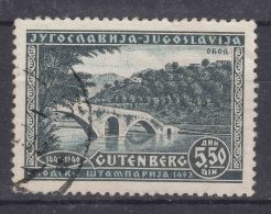 Yugoslavia Kingdom 1940 Mi#428 Used - 1931-1941 Königreich Jugoslawien