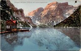 Pragser Wildsee Mit Landungsbrücke (255) - Unclassified