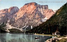 Wildsee Prags Mit Seekofel (312) * 17. 8. 1909 - Unclassified