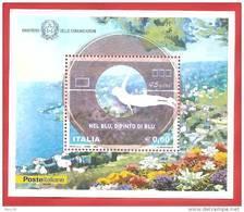 ITALIA REPUBBLICA FOGLIETTO NUOVO - 2008 - Nel Blu, Dipinto Di Blu - € 0,60 - S. BF53 - 6. 1946-.. Repubblica