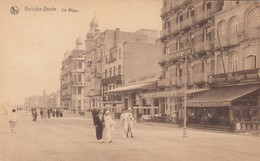 KNOKKE / ZEEDIJK / BODEGA / AU BOUQUET ROMAIN  MODE 1925 - Knokke