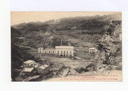L'Auvergne. Gorges De La Dore. Usine électrique De Sauviat Et L'auberge. (3110) - Autres Communes