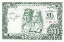 BILLETE 1000 PESETAS EMISION  29/11/1957  (MBC)  (MUY BIEN CONSERVADO) - 1000 Pesetas
