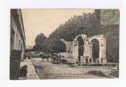 Cavaillon. Arc De Triomphe De Martus. Enfants. Attelage. (3111) - Cavaillon