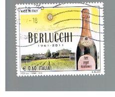 ITALIA REPUBBLICA  -   2010    BERLUCCHI                            -   USATO  ° - 6. 1946-.. Repubblica