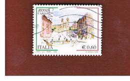 ITALIA REPUBBLICA  -   2009 ROMA CAPITALE   -   USATO  ° - 6. 1946-.. Repubblica