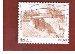 ITALIA REPUBBLICA  -   2007  DOLMEN BISCEGLIE  -   USATO  ° - 6. 1946-.. Repubblica