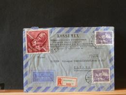 79/632  LETTRE RECOMM.  POUR LA HOLLANDE  1963 - Hongarije