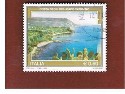 ITALIA REPUBBLICA  -   2009  TURISTICA: CAPO VATICANO                  -   USATO  ° - 6. 1946-.. Repubblica