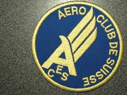 ECUSSON    AERO CLUB  SUISSE - Patches