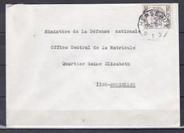 Brief Van Herseaux D1D Naar Bruxelles - 1970-1980 Elström