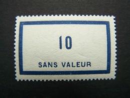 FICTIFS NEUF ** N°F 45 SANS CHARNIERE (FICTIF F45) - Phantom