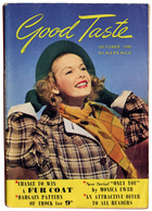 B-1181 United Kingdom, October 1949. Magazine GOOD TASTE. Many Nice Ads. 116 Pages. - Livres, BD, Revues