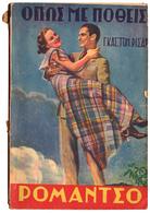 B-240 Greece 28.8.1935. Magazine ROMANTSO No 41. 132 Pages. - Boeken, Tijdschriften, Stripverhalen