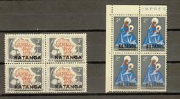 KATANGA Ocb Nr:  3 Et 5 ** MNH (zie Scans) - Katanga