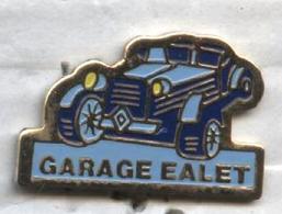 Pin's Voiture Renault Garage Ealet - Renault