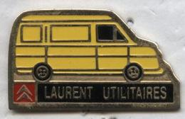 Pin's Voiture Citroën Laurent Utilitaires - Citroën