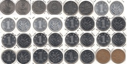 Cina Lot 16 Coins In Oblo - Used - Cina