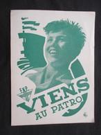 CP SCOUTISME (M1816) PATRO FNP (2 Vues) Viens Au Patro Couleur Vert - Scoutisme