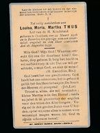 KIND  -  LOUISA THIJS  OOSTHAM 1926   BEVERLOO 1932 - Avvisi Di Necrologio
