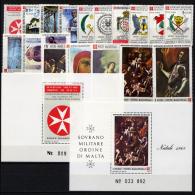 Smom 1988 -- Annata Completa --- Complete Years ** MNH / VF - Malte (Ordre De)