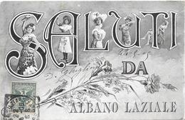 ITALIE  . CPA . Saluti Da ALBANO - LAZIALE . - Italie