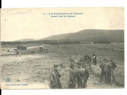 Les Américains En France/leur Sport National:Boxball(Baseball) à Lunéville(54)selon L'inscription Proche De Bruyères(88) - Guerre 1914-18