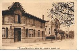 93 - VILLEMOMBLE - L'Hôtel Des Postes Et La Salle Des Fêtes - Villemomble