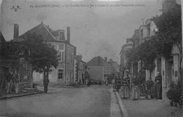Allogny : La Grande Rue Et Les 4 Routes ( à Gauche L'ancienne Prison ) - France