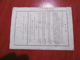 Marie Philippine Notté Décédée à Lessines Le 4 Juin 1869 à 32 Ans 9 Mois - Lessines