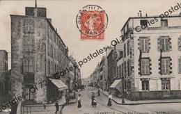 CPA [50] Manche > Granville - La Rue Lecampion - Animée - Granville