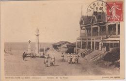 MONTALIVET Sur MER Avenue De La Plage  Vue Pas Courante - Other Municipalities