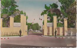 Maroc :  CASABLANCA  : 1 Er , Régiment De  Zouaves , Camp De La  Jonquière , Porte  D ' Entrée - Casablanca