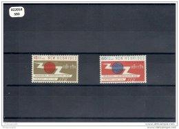 NVLLE-HEBRIDES 1965 - YT N° 213/214 NEUF AVEC CHARNIERE * (MLH) GOMME D'ORIGINE TTB - English Legend