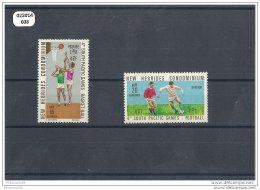 NVLLE-HEBRIDES 1971 - YT N° 310/311 NEUF AVEC CHARNIERE * (MLH) GOMME D'ORIGINE TTB - English Legend