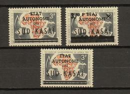 Zuid-Kasai Ocb Nr:  14 - 15 14-CU * MH  (zie Scans) - South-Kasaï