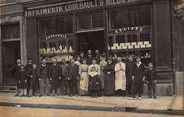 Belle Carte-Photo De Châteaubriant - Imprimerie Coulbault - Châteaubriant