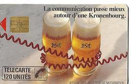 PUBLICITE   KRONEMBOURG  Carte Téléphonique 120 Unités - Other