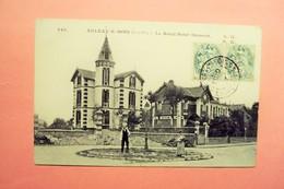 """AULNAY SOUS BOIS  """" LE ROND POINT DUMONT  """" ECRITE ET VOYAGEE 1907. - Aulnay Sous Bois"""